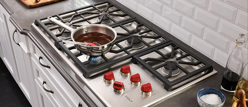 Top Rated Best 6 Burner Gas Cooktops Brand
