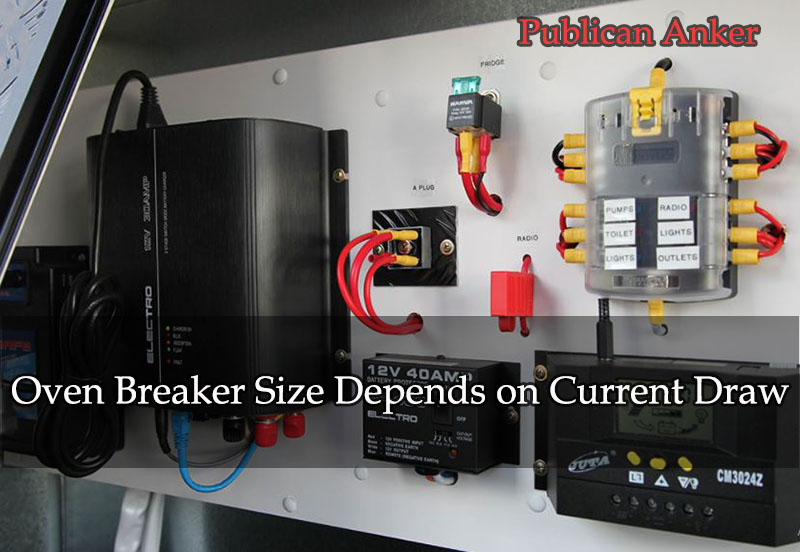 Oven Breaker Size Depends on Current Draw