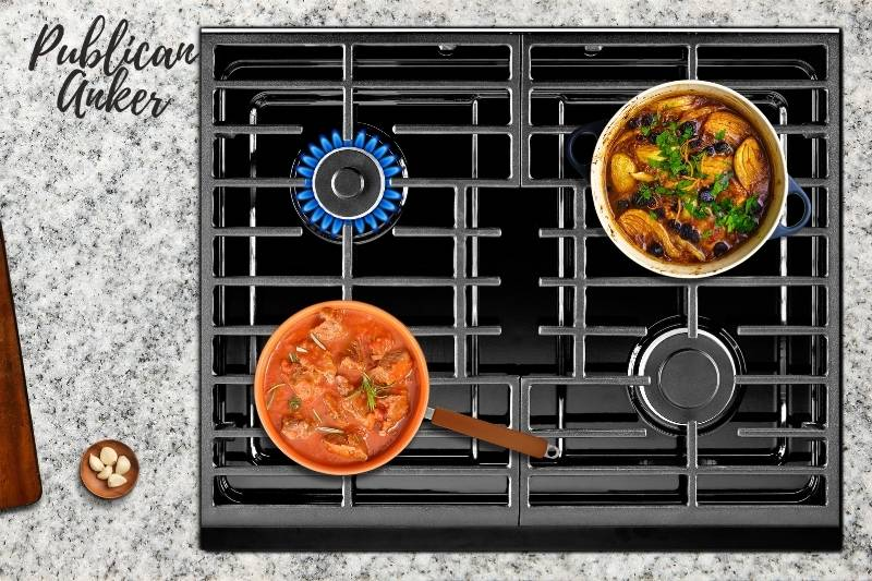 Reconnecting the Gas Stove