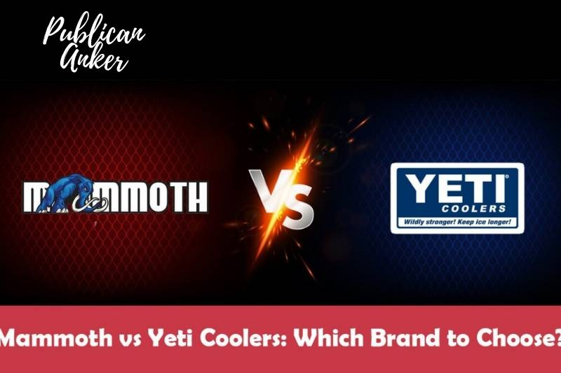 Mammoth Cooler vs. Yeti Overview